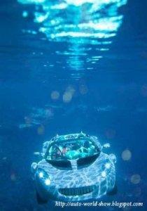 scuba mobil berenang